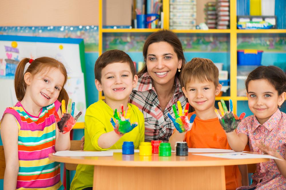 preschool children drawing